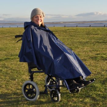 Splash Wheelchair Poncho (Unlined)