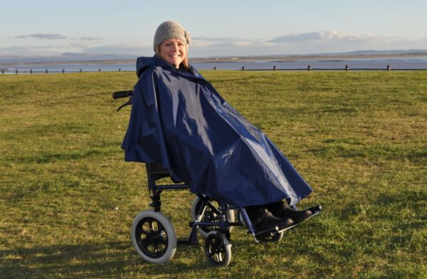 Splash Wheelchair Poncho (Unlined)