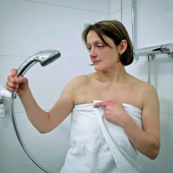 Mobeli Shower Head Positioner