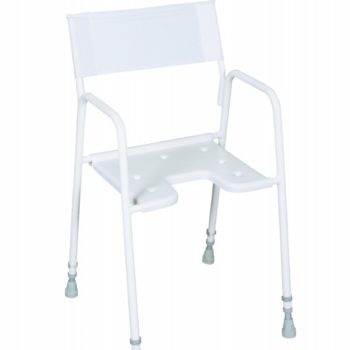 Adjustable Height Shower Chair