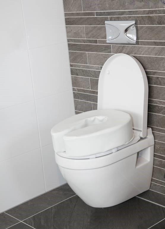 Atlantis Padded Raised Toilet Seat