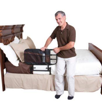 Stander EZ Adjust Bed Rail with Pouch
